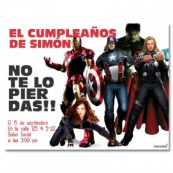 c0159 - Birthday invitations