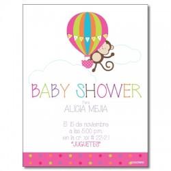 c0226 - Invitaciones de cumpleaños - baby shower