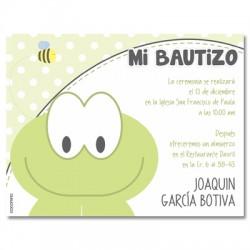 b0085 - Invitaciones - Bautizo