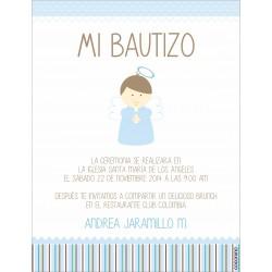 b0090 - Invitaciones - Bautizo