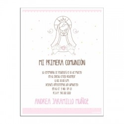 b0099 - Invitations - First communion