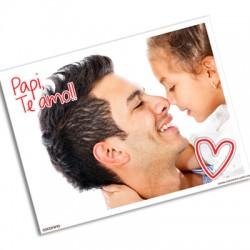 pm0011 - Postal magnética con foto - Padre