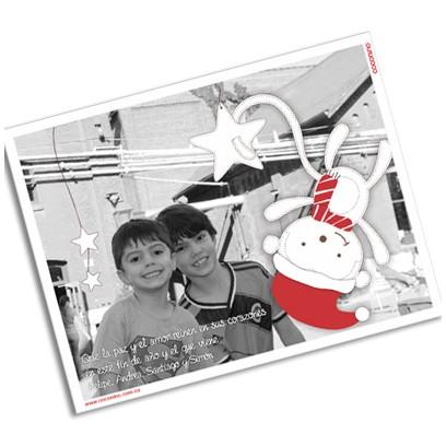 Postal magnética con foto