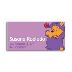 ea0001 - Etiquetas autoadhesivas - Winnie the Pooh