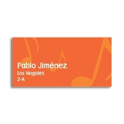 ea0003 - Self-adhesive labels - Music