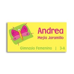 ea0008 - Self-adhesive labels - Butterfly