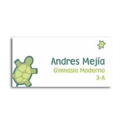 ea0009 - Self-adhesive labels - turtles
