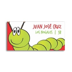 ea0022 - Self-adhesive labels - Worm
