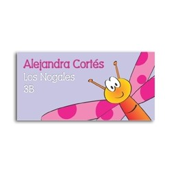 ea0024 - Self-adhesive labels - Dragon-fly