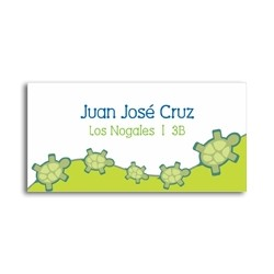 ea0030 - Self-adhesive labels - Turtles