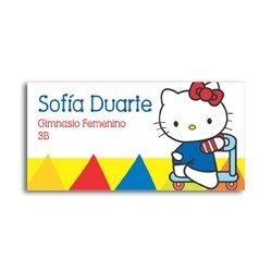 ea0033 - Self-adhesive labels - Hello Kitty