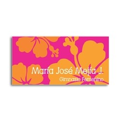 ea0072 - Self-adhesive labels - Flowers
