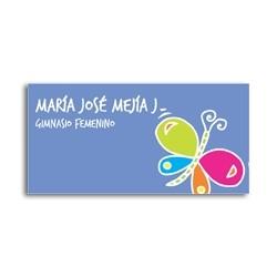 ea0073 - Etiquetas autoadhesivas - Mariposa