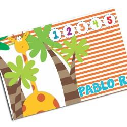 i0103 - Placemat - Giraffe