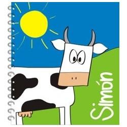 lb0014 - Libretas - Vaca.