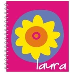 lb0018 - Libretas - Flores.