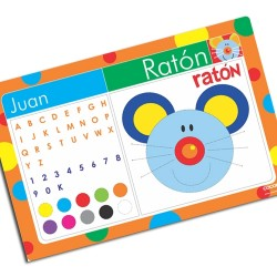 i0045 - Paper Placemat - Mouse