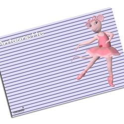 i0050 - Paper Placemat - Ballet