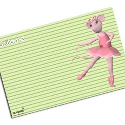 i0051 - Paper Placemat - Ballet