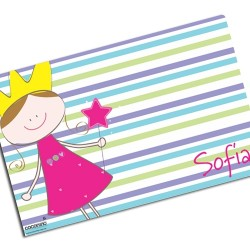 i0058 - Paper Placemat - Princess