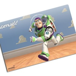 i0060 - Paper Placemat - Buzz Lightyear
