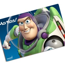 i0061 - Paper Placemat - Buzz Lightyear