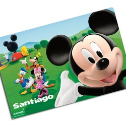 i0063 - Paper Placemat - Mickey Mouse