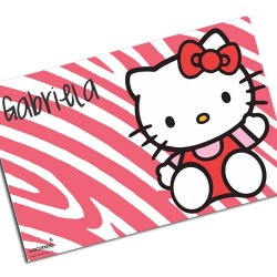i0068 - Paper Placemat - Hello Kitty