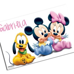 i0070 - Paper Placemat - Disney
