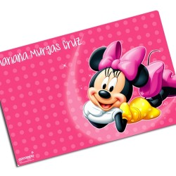 i0071 - Paper Placemat - Minnie Mouse