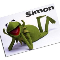 i0079 - Paper Placemat - Kermit