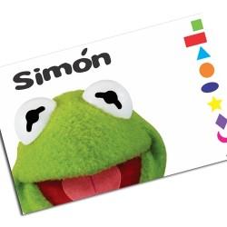 i0080 - Paper Placemat - Kermit