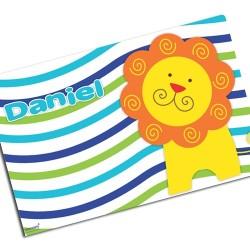 i0086 - Paper Placemat - Lion