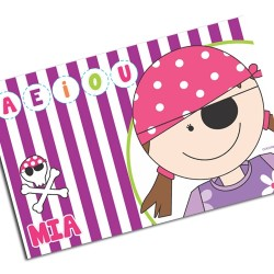 i0100 - Paper Placemat - Pirate