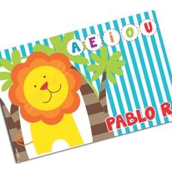 i0102 - Paper Placemat - Lion