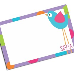 i0109 - Paper Placemat - Bird