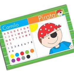 i0044 - Placemat - Pirate