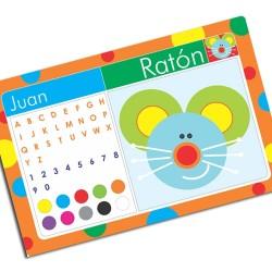 i0045 - Individual de mesa - Ratón