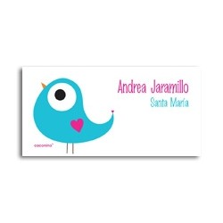 ea0080 Azul - Self-adhesive labels - Bird