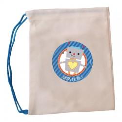 bl0074 - Canvas bags - multipurpose - Robot