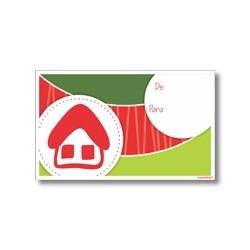 Tarjeta de navidad - Casa