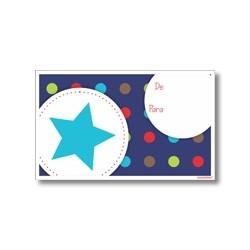 Tarjeta de navidad - Estrella