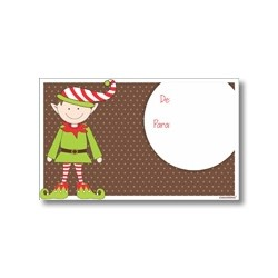 Tarjeta de navidad - Duende