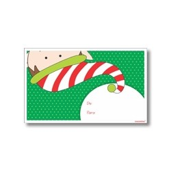pn0009 - Tarjeta de navidad - Duende