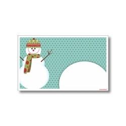 Tarjeta de navidad - Hombre de nieve