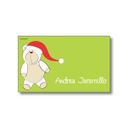 Tarjeta de navidad - Oso Polar