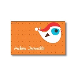 Tarjeta de navidad - Aves
