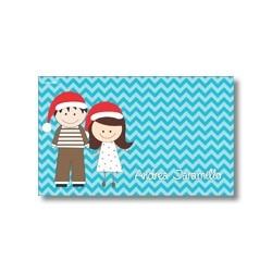 Tarjeta de navidad - Niños