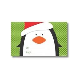 Tarjeta de navidad - Pingüinos