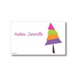 Tarjeta de navidad - bota de regalos